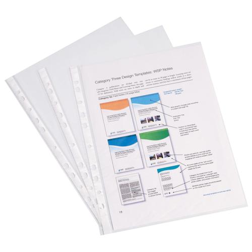 ErichKrause Файл пластиковый Semi-Clear Economy A4 прозрачный
