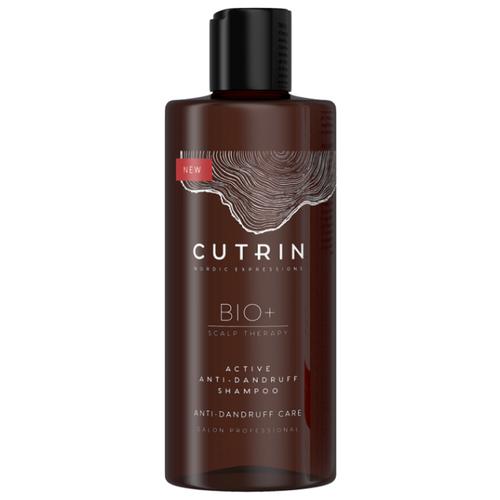 Фото - Cutrin шампунь Bio+ Active Anti-Dandruff Shampoo, 250 мл cutrin шампунь для жирной кожи головы 250 мл cutrin bio