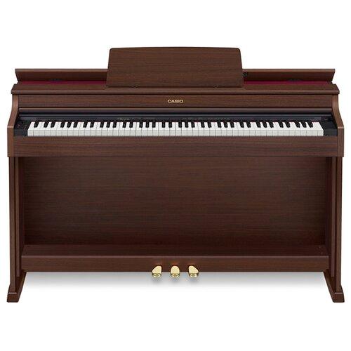 Цифровое пианино CASIO AP-470 коричневый