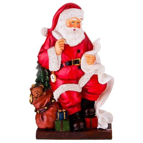 Фигурка Lefard Санта Клаус 146-995 красный фигурка lefard снеговик 787 179