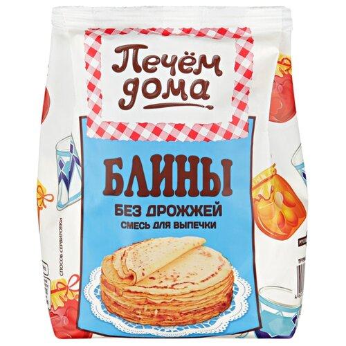 Печём Дома Смесь для выпечки Блины без дрожжей, 0.3 кг