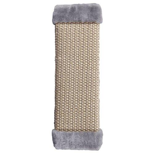 Когтеточка Шурум-бурум плетеная 50 х 15 см серый
