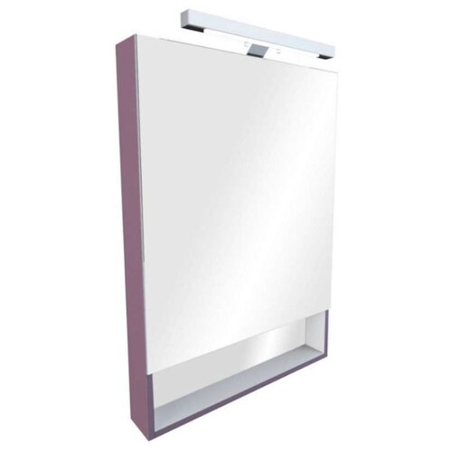 Шкаф-зеркало для ванной Roca Gap 60, (ШхГхВ): 60х12.9х85 см, фиолетовый