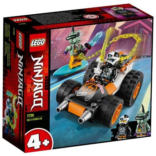 Конструктор LEGO Ninjago 71706 Скоростной автомобиль Коула lego ninjago 70672 раллийный мотоцикл коула конструктор