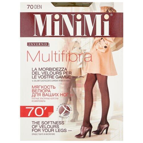 Колготки MiNiMi Multifibra Colors 70 den, размер 2-S/M, kaki (зеленый) колготки minimi multifibra colors 70 den размер 5 xl kaki зеленый