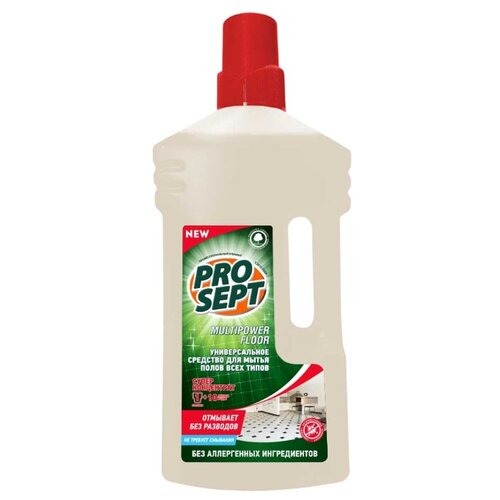 цена на PROSEPT Универсальный концентрат для мытья полов Multipower Floor 1 л