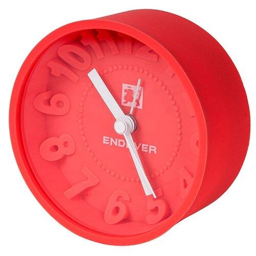 Часы настольные ENDEVER RealTime-10/11 красный