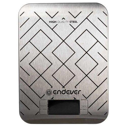 Кухонные весы ENDEVER Chief-537 серебристый кухонные весы endever chief 538 серебристый