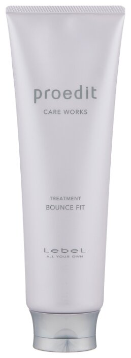 Lebel Cosmetics Маска восстанавливающая для поврежденных волос Proedit Hair Treatment Bounce Fit
