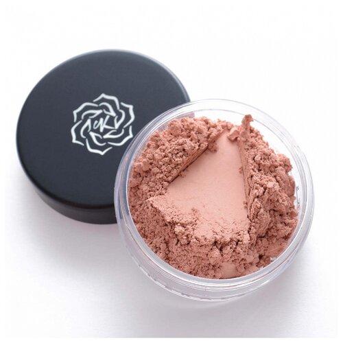Kristall Minerals Румяна сатиново-шиммерные B215 каштановый розовый косметика minerals