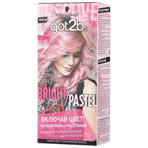 Schwarzkopf got2b Bright/Pastel Тонирующая краска для волос, 093 Шокирующий розовый тонирующая краска матрикс