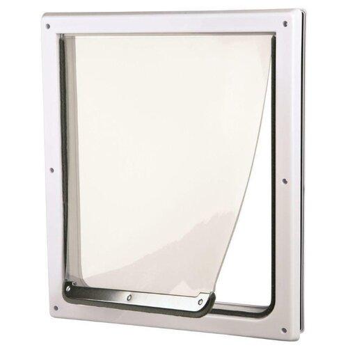 Дверца в дверь для животных TRIXIE 2-Way Flap S-M 30х36 см белый