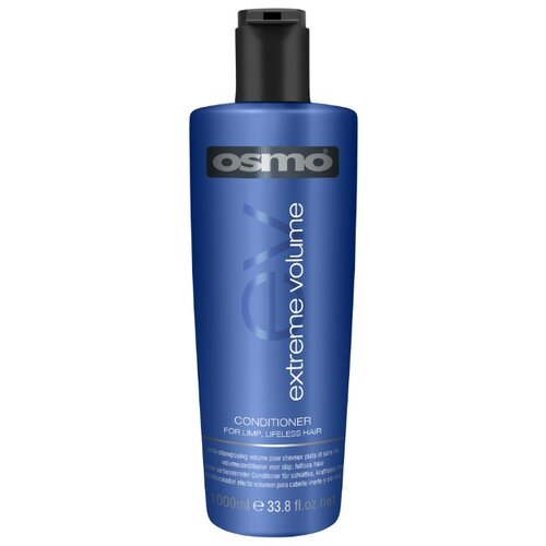 Osmo кондиционер Extreme Volume для объема волос, 1000 мл osmo глина воск для волос matte clay extreme 100 мл