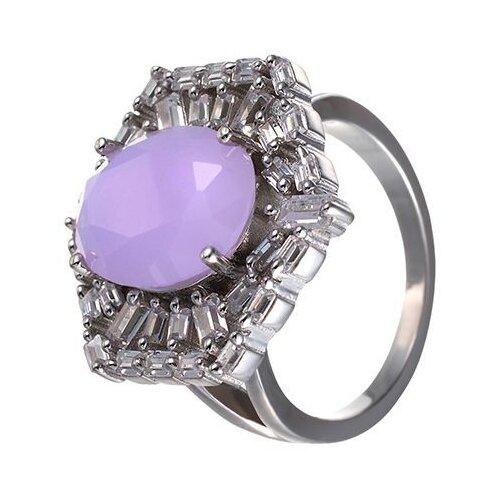 JV Кольцо с фианитами из серебра SY-355424-R-004-WG, размер 17 jv кольцо с фианитами из серебра sy 355491 r 003 wg размер 17