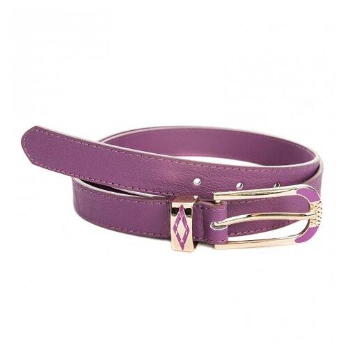 Ремень Rossini BR010, фиолетовый, 105 см