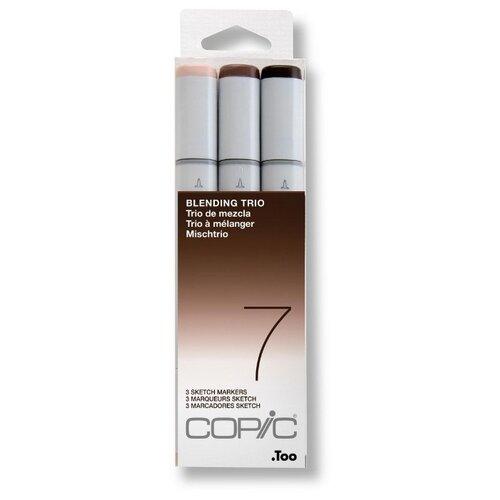 Купить COPIC набор маркеров Sketch Blending Trio 7 (H21075637), 3 шт., Фломастеры