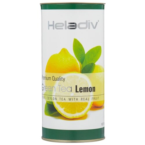 Чай зеленый Heladiv Premium Quality Green Tea Lemon, 100 г