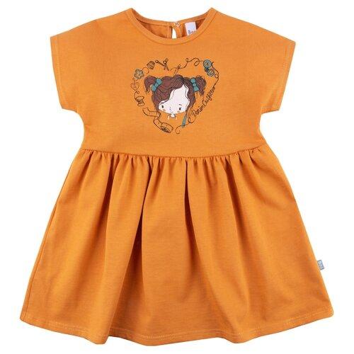 Платье Bossa Nova размер 86, оранжевый