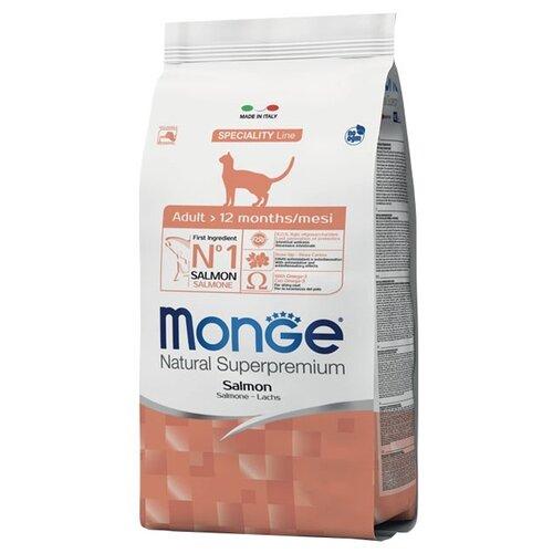 Сухой корм для кошек Monge Natural Superpremium, с лососем 1.5 кг