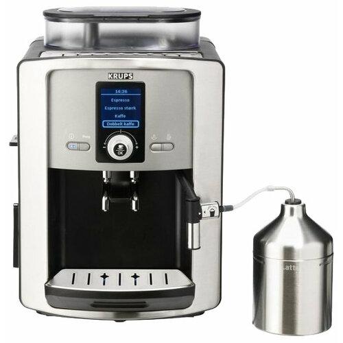 Кофемашина Krups EA8050 Compact Espresseria серебристый/черный кофемашина krups ea894t10 серебристый