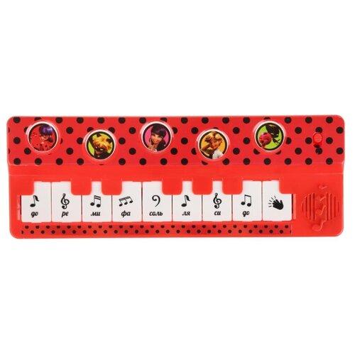 Купить Умка пианино Леди Баг B1517258-R24 красный, Детские музыкальные инструменты