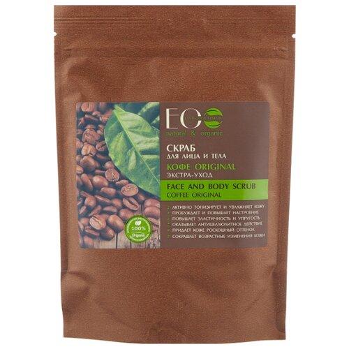 ECO Laboratorie Скраб для лица и тела Кофе original, 200 г скраб из спитого кофе от целлюлита
