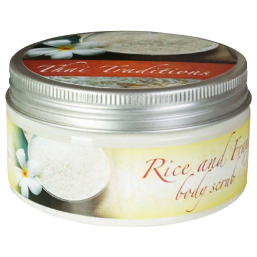 Thai Traditions Скраб для тела Rice And Frangipani Body Scrub 200 мл sesderma скраб mandelac scrub face and body для лица и тела 50 мл