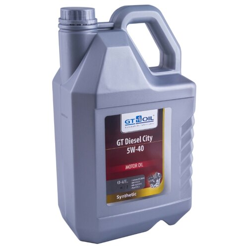 Моторное масло GT OIL GT Diesel City 5W-40 6 л