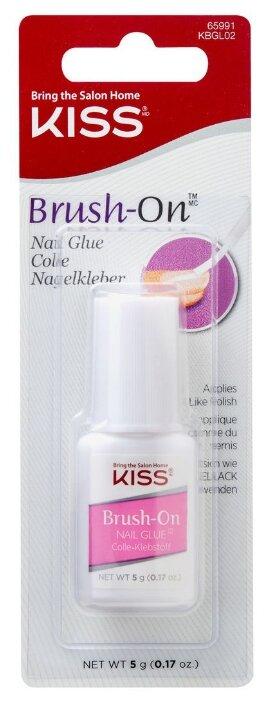 Клей KISS для ногтей и типсов Brush on