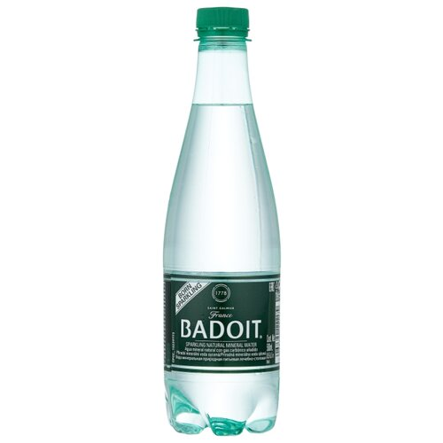 Вода минеральная Badoit газированная, ПЭТ, 0.5 л минеральная вода от изжоги при беременности