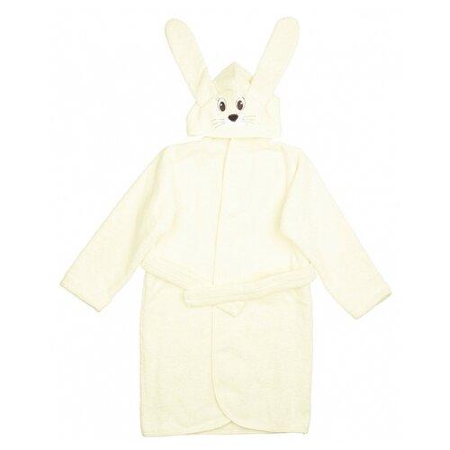 Купить Халат LEO размер 80-86, молочный, Домашняя одежда