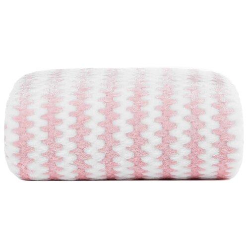 Плед Arya Fierra 130 x 170 см, розовый полотенца arya комплект из 6 ти полотенец arya birdy 30 30 см бело розовый