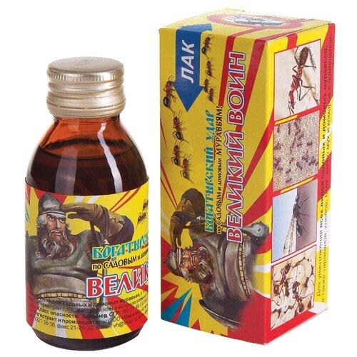 Лак Ваше хозяйство Великий Воин от муравьев 100 мл гель от муравьев дохлокс мгновенный яд 100 мл 4607008763218