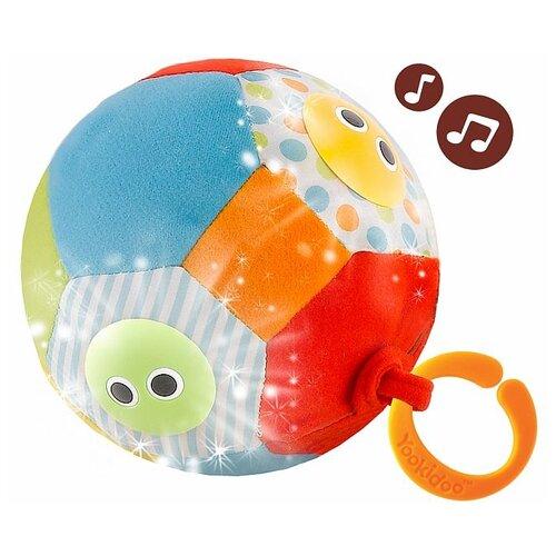 Купить Мягкая игрушка Yookidoo Музыкальный мяч с огоньками 10 см, Мягкие игрушки