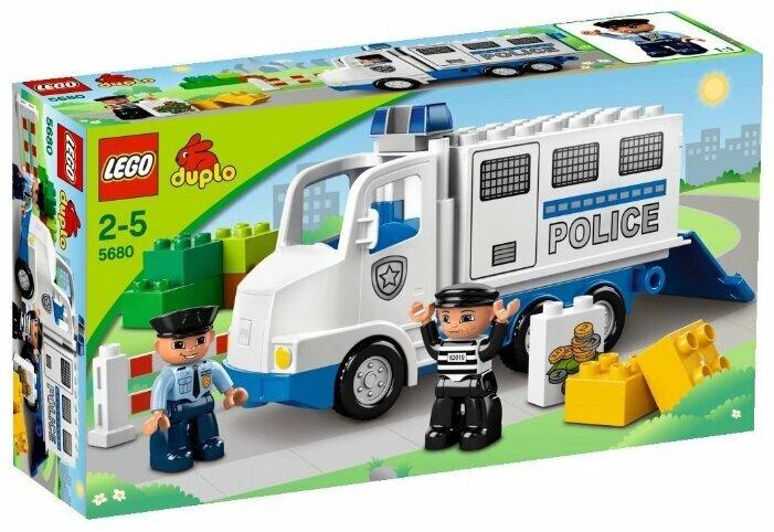 Конструктор LEGO DUPLO 5680 Полицейский грузовик