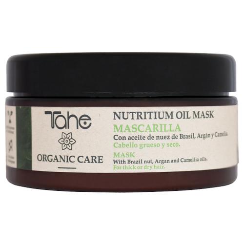 Tahe Organic Care Nutritium Oil Питательная маска для густых и сухих волос, 300 мл organic oil маска для всех