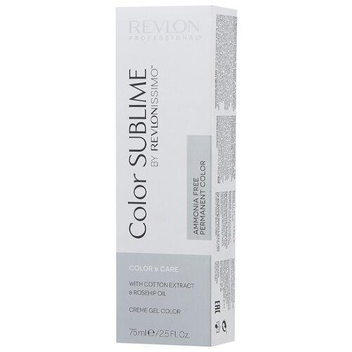 Revlon Professional Revlonissimo Color Sublime стойкая краска для волос, 75 мл, 9.32 очень светлый блондин золотисто-перламутровый