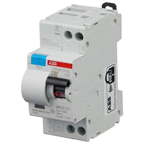 Дифференциальный автомат ABB DSH941R 2П 30 мА C 20 А автомат abb 2cds273001r0324