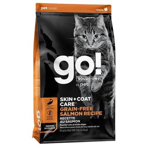 Корм для кошек GO! беззерновой, с лососем 1.36 кг