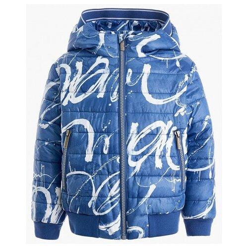 Купить Куртка Gulliver Морской десант 11906BMC4103 размер 110, синий, Куртки и пуховики