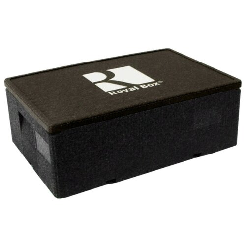 Royal Box Изотермический контейнер Unique черный 32 л