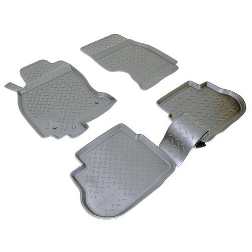 Комплект ковриков NorPlast NPL-Po-33-50 4 шт. черный комплект ковриков norplast npl po 29 33 4 шт черный