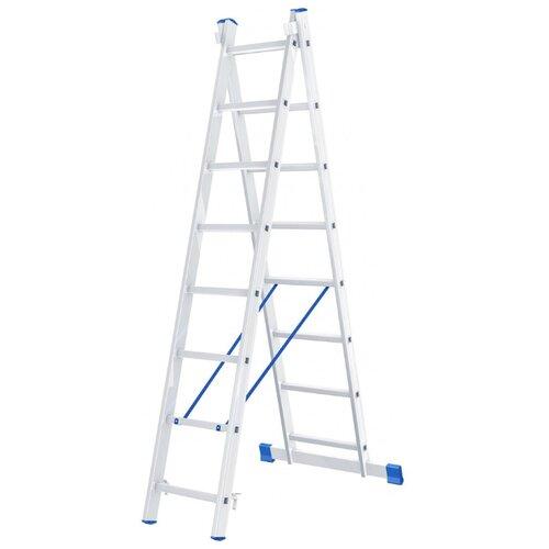 Лестница трансформер 2-секционная Сибртех 97908