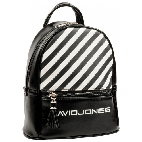 Рюкзак DAVID JONES 5965-4, искусственная кожа, черный цена 2017