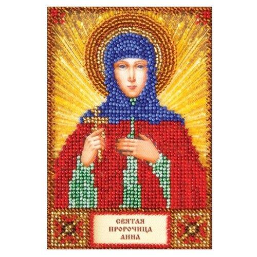 ABRIS ART Набор для вышивания бисером Святая Анна 10 х 15 см (AAM-015)