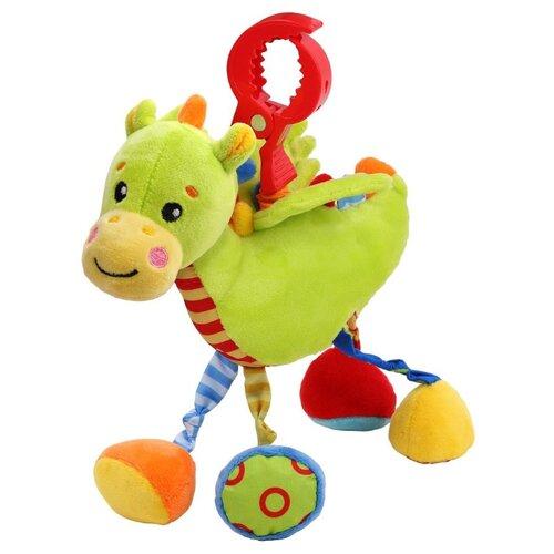 Купить Подвесная игрушка Жирафики Дракончик (939709) зеленый/красный, Подвески