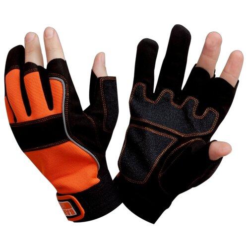 Полуперчатки BAHCO GL012-8 2 шт. черный/оранжевый джиг головка onlitop 1233062 оранжевый желтый 8 г 2 шт