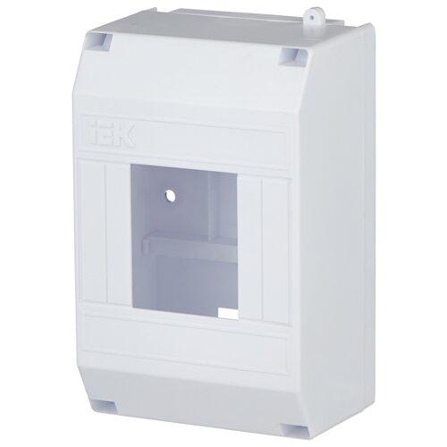 Щит распределительный IEK КМПн 1/4 навесной, пластик, модулей 4 белый