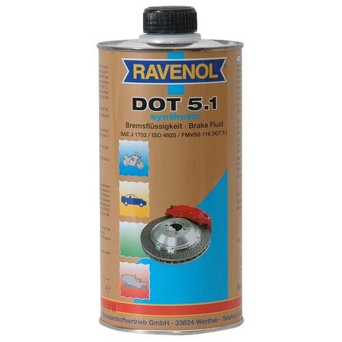 Тормозная жидкость Ravenol DOT 5.1 1 л