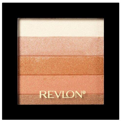 Revlon Палетка-хайлайтер Highlighting Palette 030, bronze glow